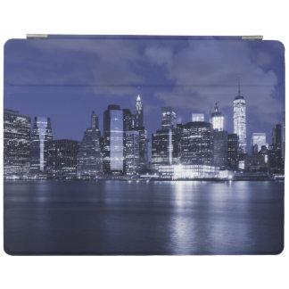 Horizon de New York baigné dans le bleu Protection iPad