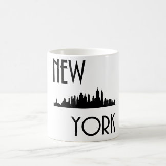 Horizon de New York City Mug Blanc