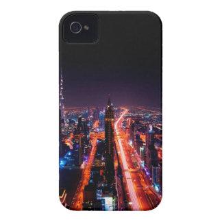 Horizon de nuit de Dubaï Coque iPhone 4 Case-Mate
