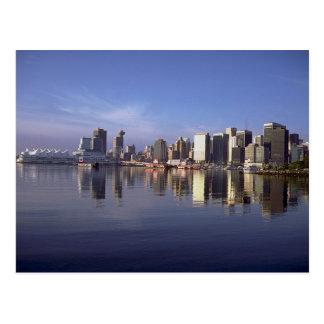 Horizon de Vancouver, Colombie-Britannique, Canada Carte Postale