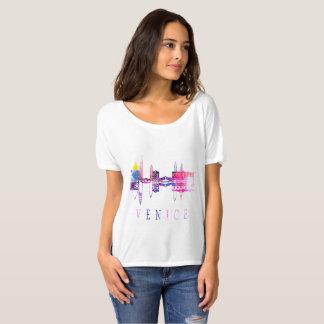 Horizon de Venise. T-shirt de l'Italie