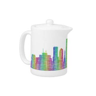 Horizon de ville d'Indianapolis