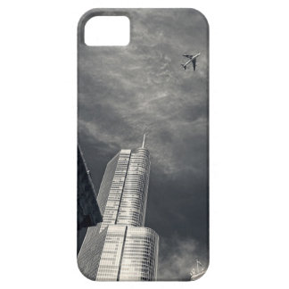 Horizon noir et blanc de Chicago Coque Barely There iPhone 5