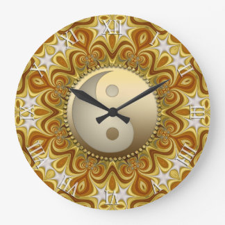 Horloge à la maison de décor de Yin Yang Feng Shui