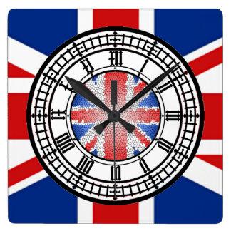 horloge britannique de cric des syndicats de