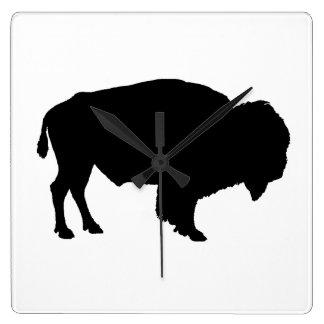 Horloge Carrée Buffalo