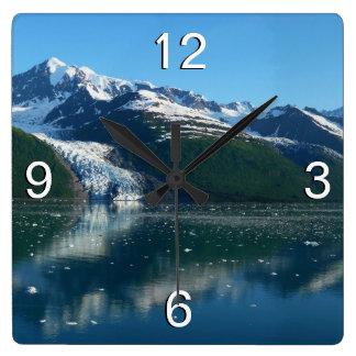 Horloge Carrée D'université belle Alaska photographie du fjord II