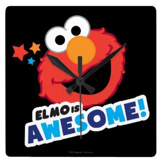 Horloge Carrée Elmo impressionnant
