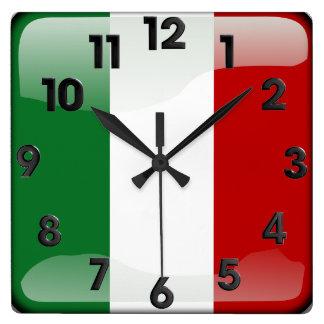 Horloge Carrée Italien poli