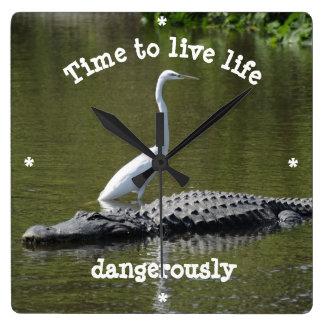 Horloge Carrée la vie de Time to Live