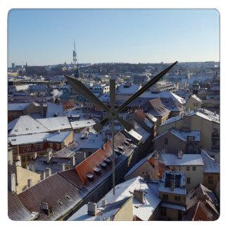 Horloge Carrée La ville de l'horloge de Prague