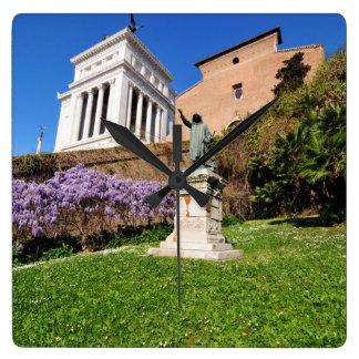 Horloge Carrée Rome, Italie
