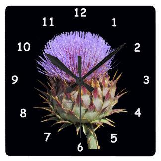 Horloge - chardon