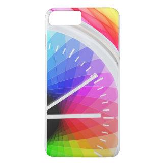 Horloge d'arc-en-ciel coque iPhone 8 plus/7 plus