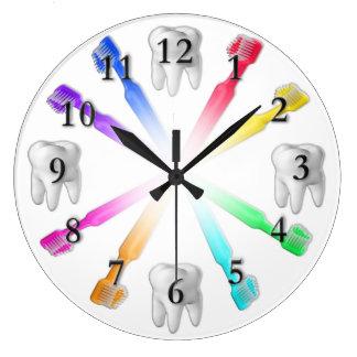 Horloge de brosse à dents