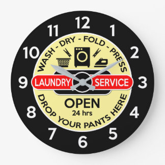 Horloge de buanderie/horloge de lingerie