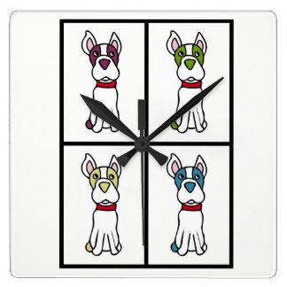 Horloge de chien - Boston Terrier