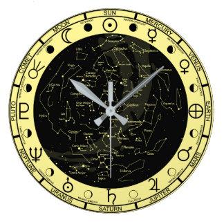 Horloge de constellation de symboles de