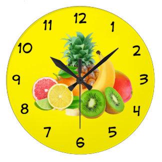 Horloge de cuisine de fruit