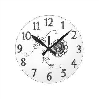 Horloge de griffonnage