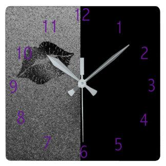 Horloge de lèvres de maquilleur