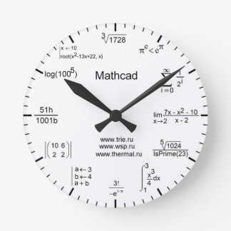 Horloge de maths