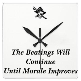 Horloge de moral