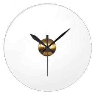 horloge de mur bitcoin