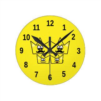 Horloge de Mur - Famille Homosexuel Hommes