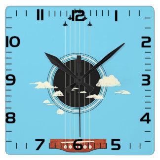 "Horloge de mur «Guitare """