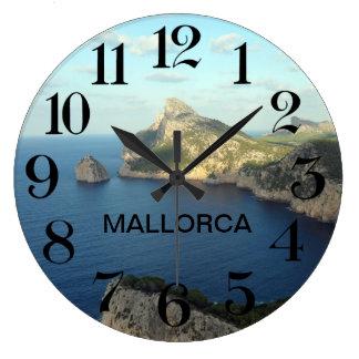 horloge de paroi Extrémité de Formentor en