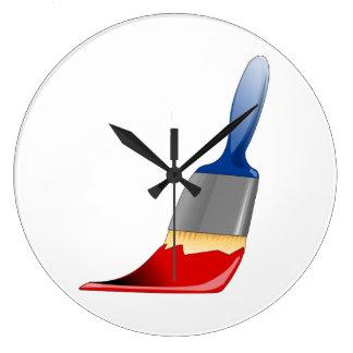 Horloge de pinceau