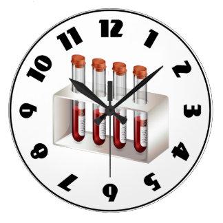 Horloge de prises de sang