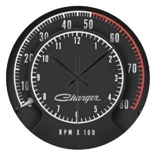 Horloge de Tic-COT-Tachymètre de chargeur
