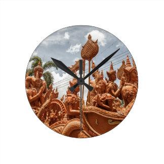 Horloge de voyage de festival de bougie d'Ubon