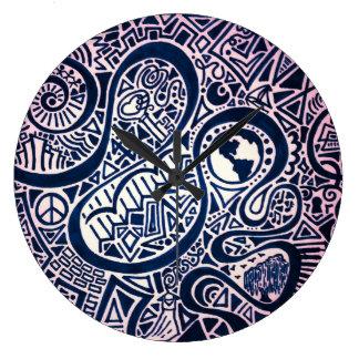 Horloge de voyage du monde