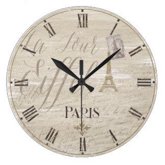 Horloge décorative de Paris de Tour Eiffel