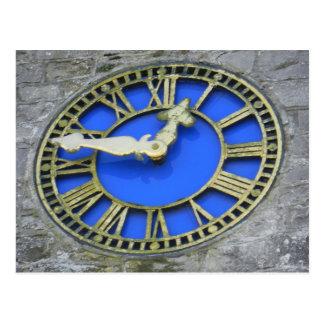 Horloge d'église de St Brendan de l'Irlande - birr Carte Postale