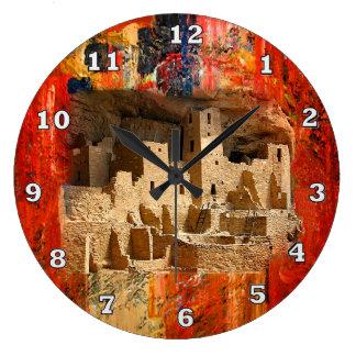 Horloge du sud-ouest de falaises de MESA Verde