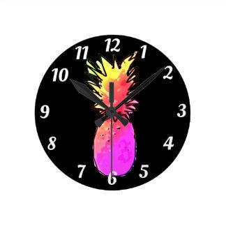 Horloge en Acrylique Ananas
