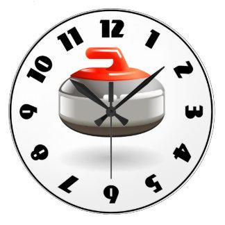 Horloge en pierre de bordage