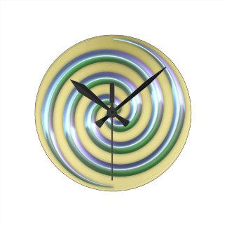 Horloge en spirale d'or
