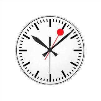 Horloge ferroviaire suisse