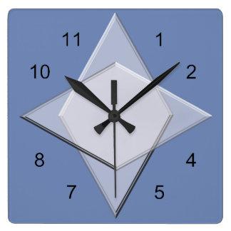 Horloge - motif géométrique