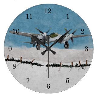 Horloge murale 1944 de moustique d'hiver