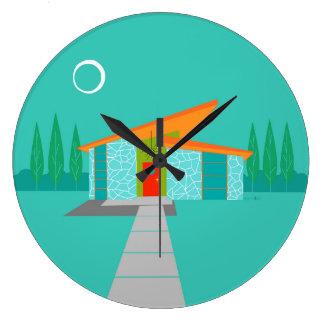 Horloge murale acrylique ronde de Chambre de bande