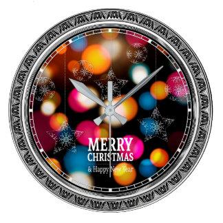 Horloge murale colorée d'Ornamental d'étincelles