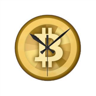 Horloge murale de Bitcoin