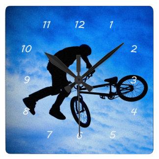 Horloge murale de BMX