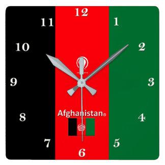 Horloge murale de concepteur de l'Afghanistan